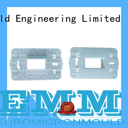 Electrommunication product by precision injection molding