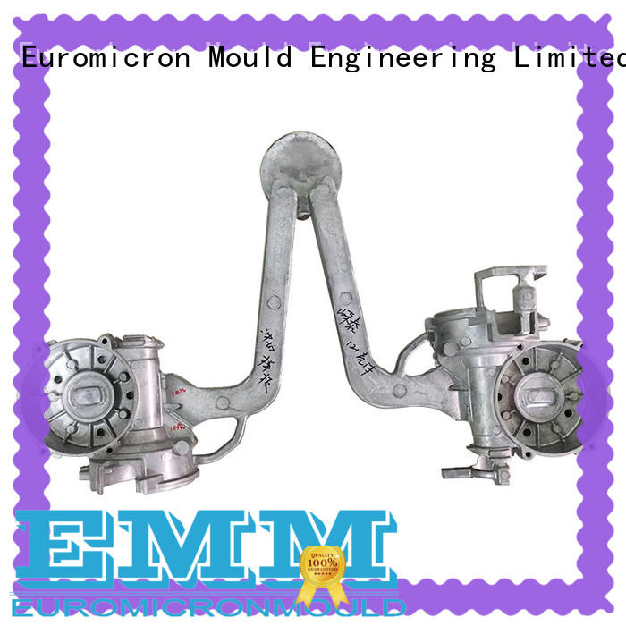 twinshot aluminium auto parts manufacturers innovative product for global market Euromicron Mould