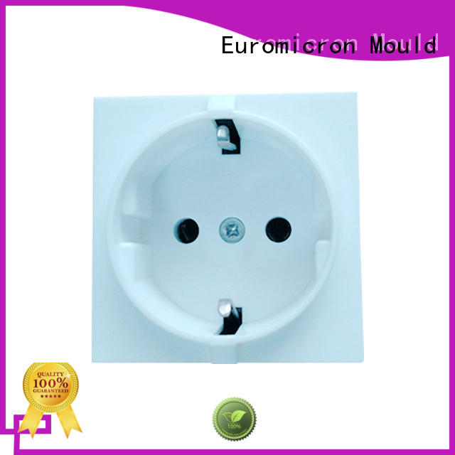 Euromicron Mould high productivity plastic molding manufacturing supplier for electronic components