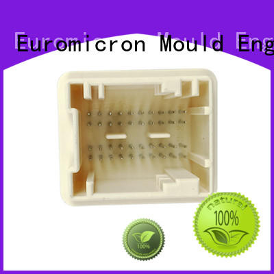 Euromicron Mould Brand injection precision molded plastics connector supplier