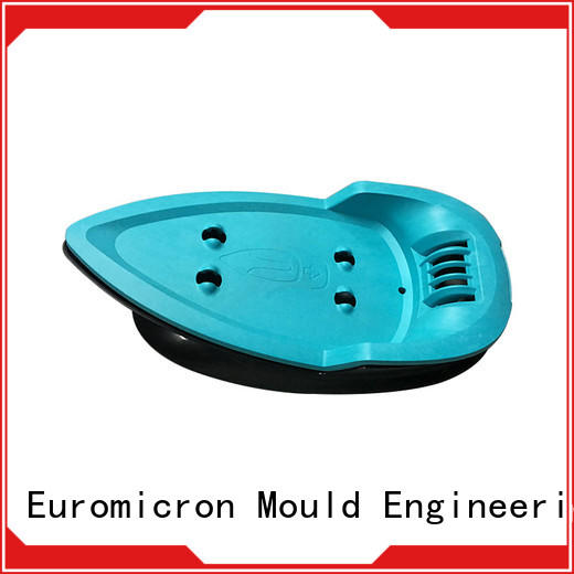 Euromicron Mould strong packing custom plastic molding request for quote for home application