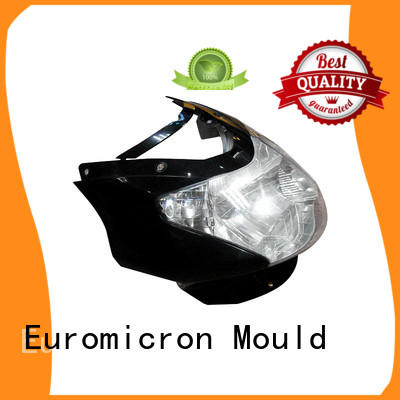 interior plastic resin car moulding Euromicron Mould Brand