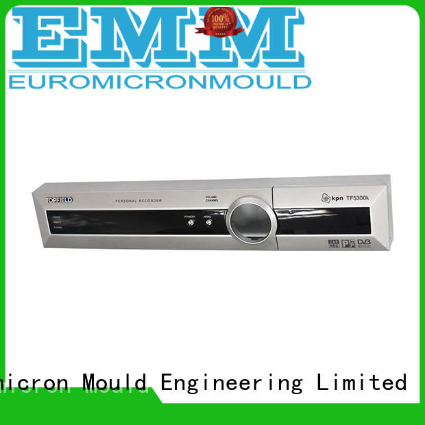 Euromicron Mould molding custom plastic box wholesale for electronic components