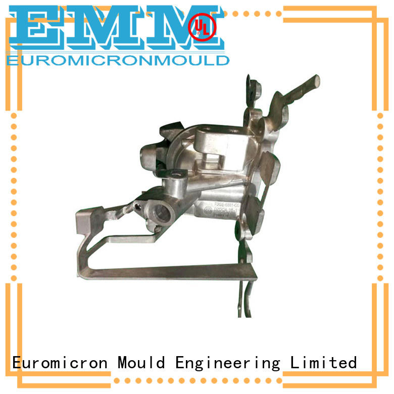 Euromicron Mould tee diecast car parts innovative product for auto industry