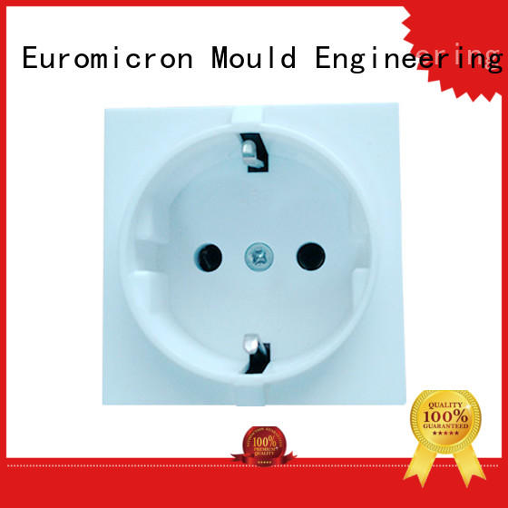 Euromicron Mould Brand electronics injection precision molded plastics products