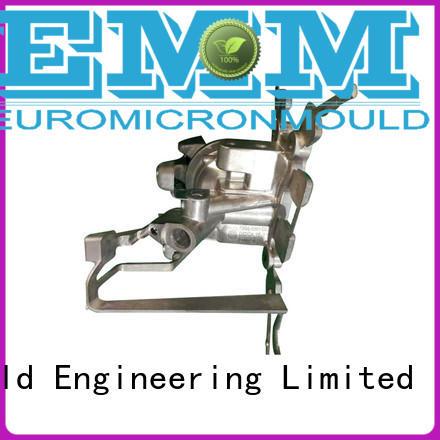 aluminum automotive parts parts for auto industry Euromicron Mould