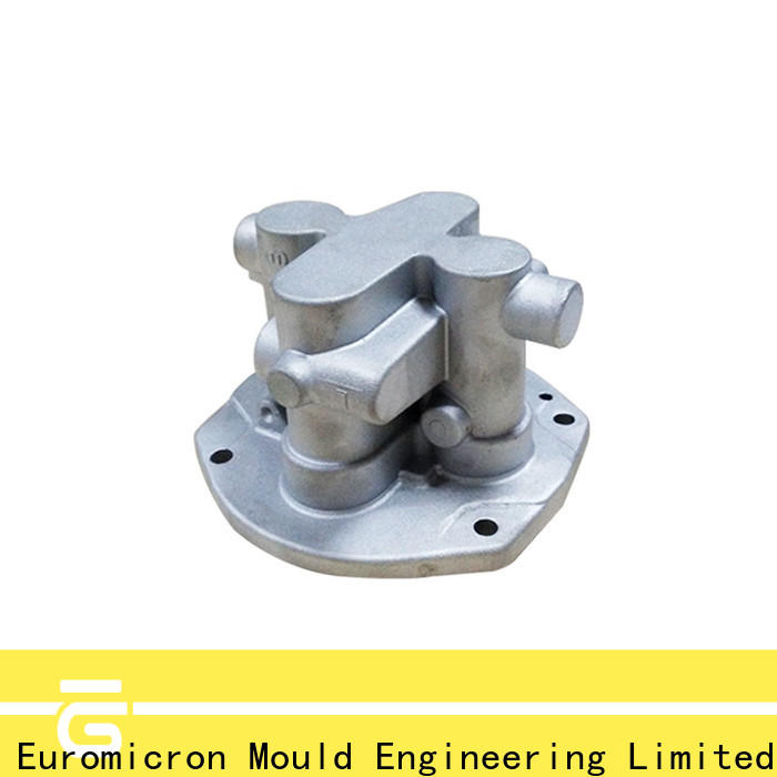 Euromicron Mould injection aluminum car parts export worldwide for auto industry