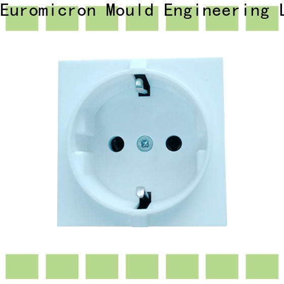 Euromicron Mould high efficiency precision molded plastics manufacturer for electronic components
